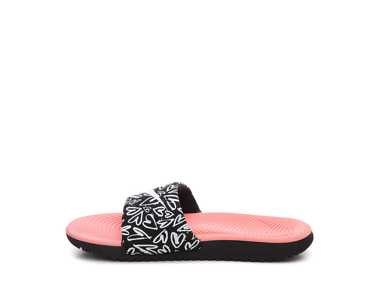 6912fb5b0 Nike Kawa Print Toddler   Youth Slide Sandal Kids Shoes