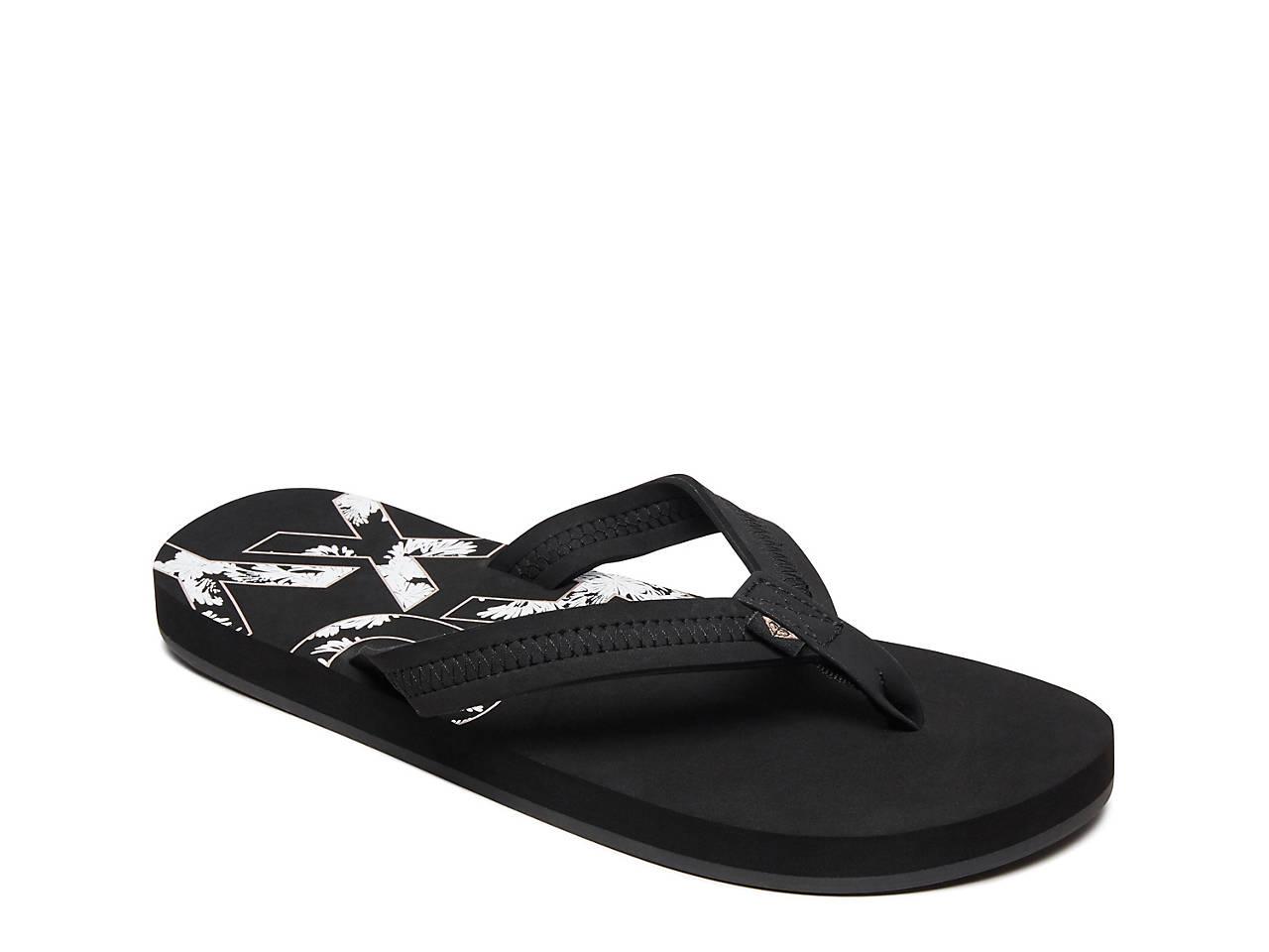 12274bedee38 Roxy Point Break Flip Flop Women s Shoes