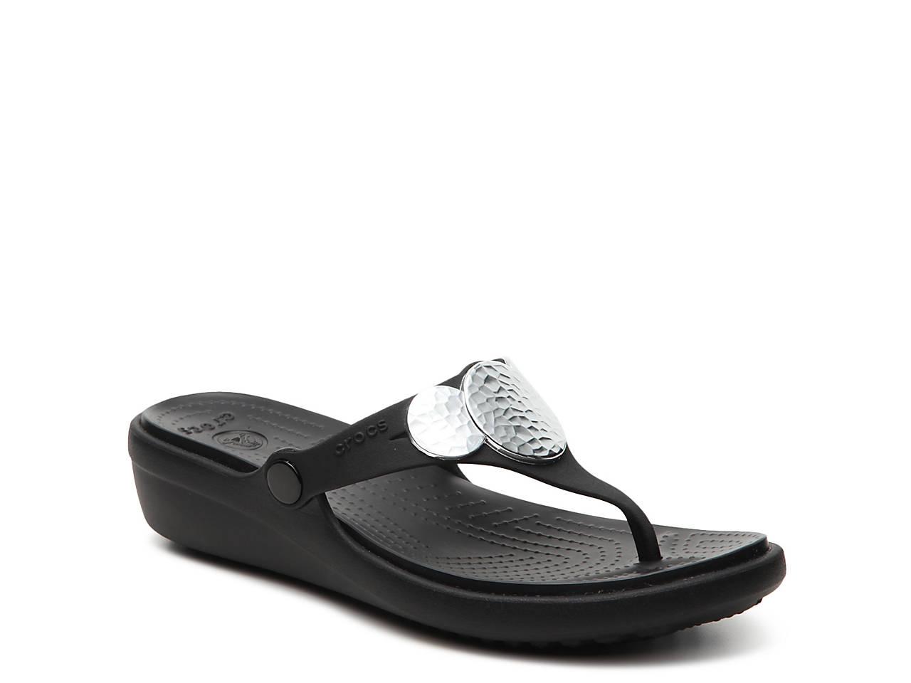 Sanrah Wedge Sandal by Crocs