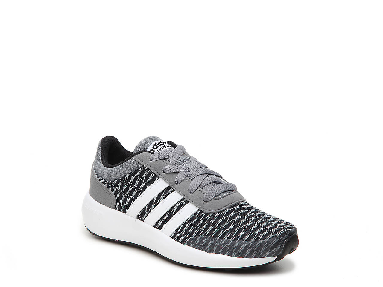 adidas neo kids' cloudfoam race shoe