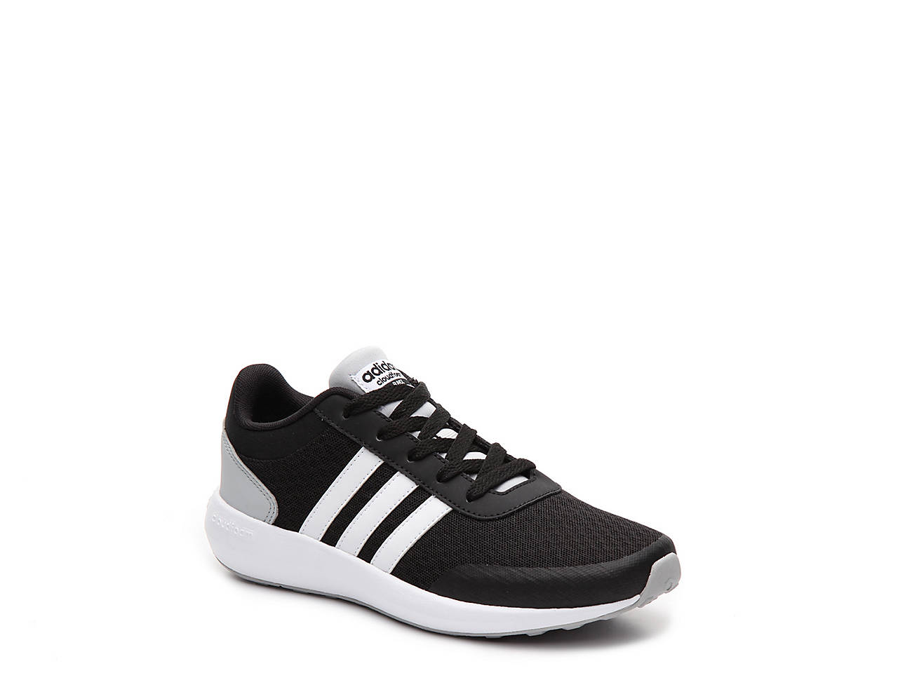 adidas cloudfoam race childrens trainers