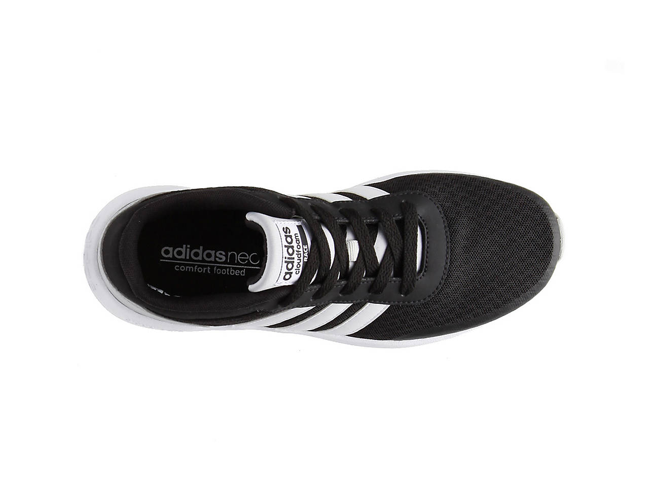 adidas neo cloudfoam race boys' athletic shoes