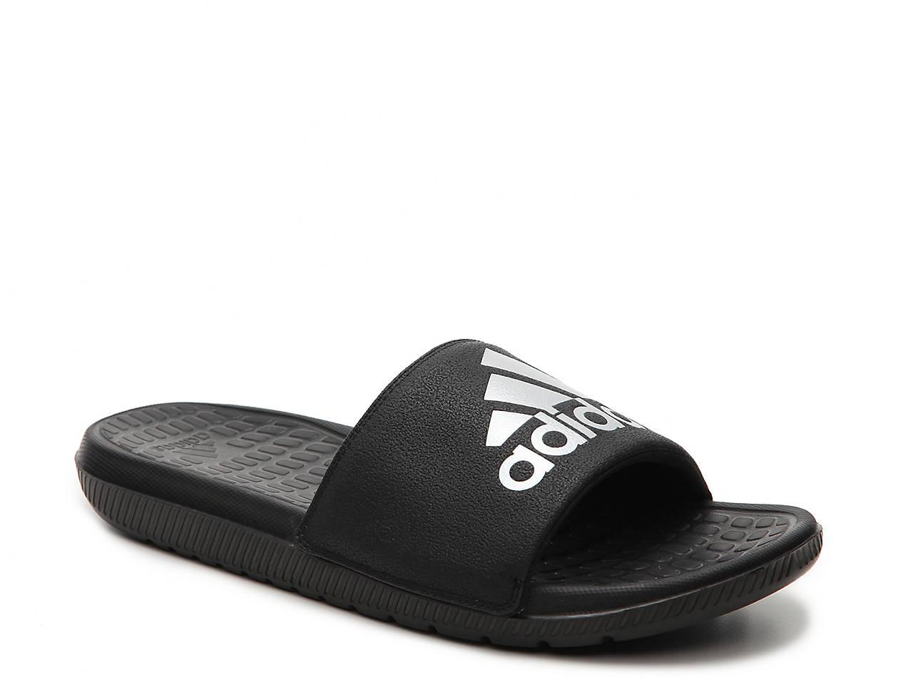 Black sandals at dsw - Voloomix Slide Sandal