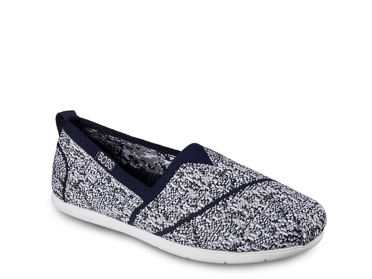 623a1b5d96ab BOBS from Skechers Plush Lite Tailor Made Slip-On Women s Shoes