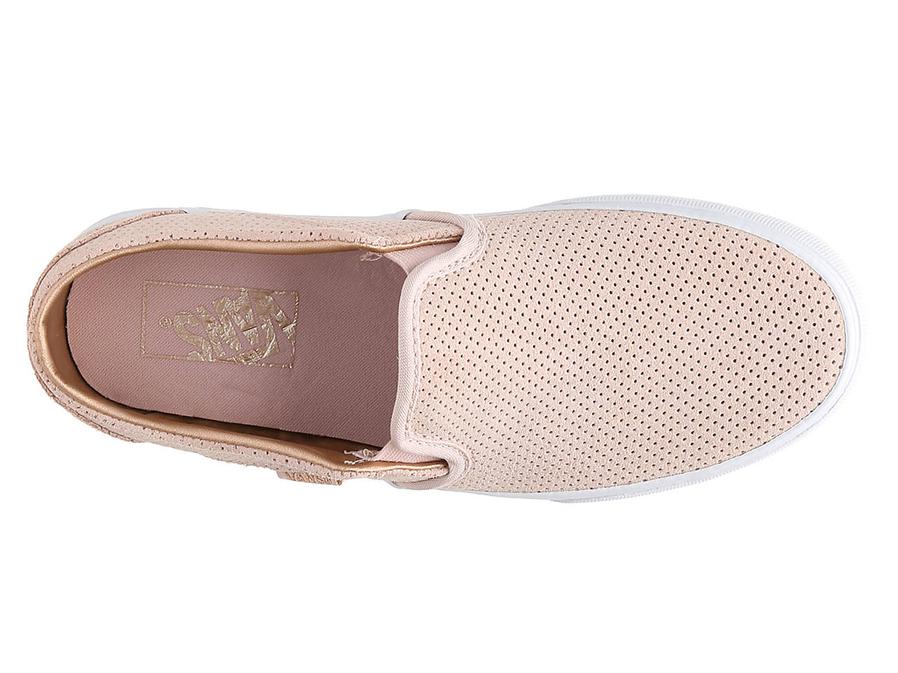 Vans Asher Perforated Slip-On Sneaker - Women s Women s Shoes  e0f7b7f2b