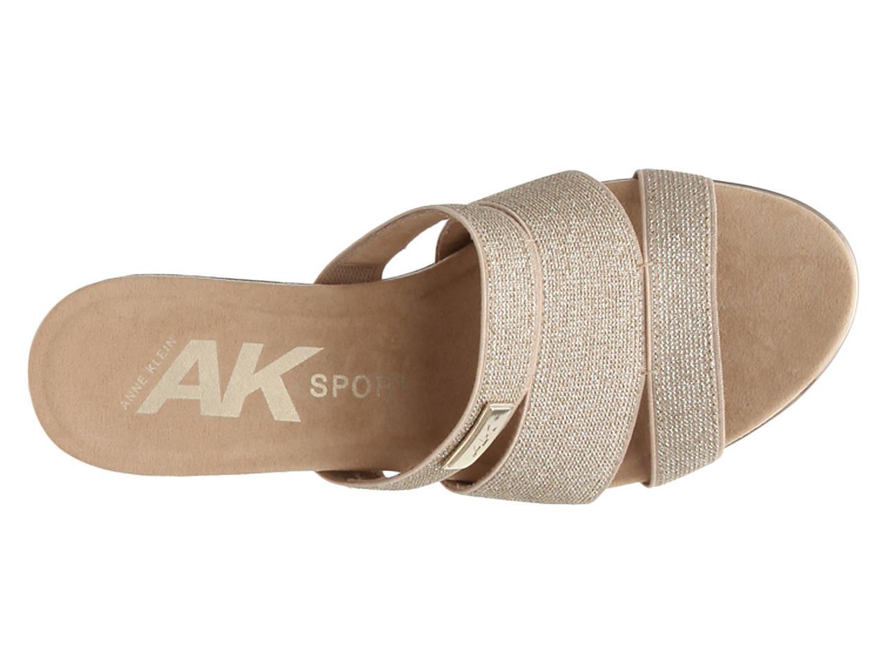 Anne Klein Sport Penella Wedge Sandal Women S Shoes Dsw