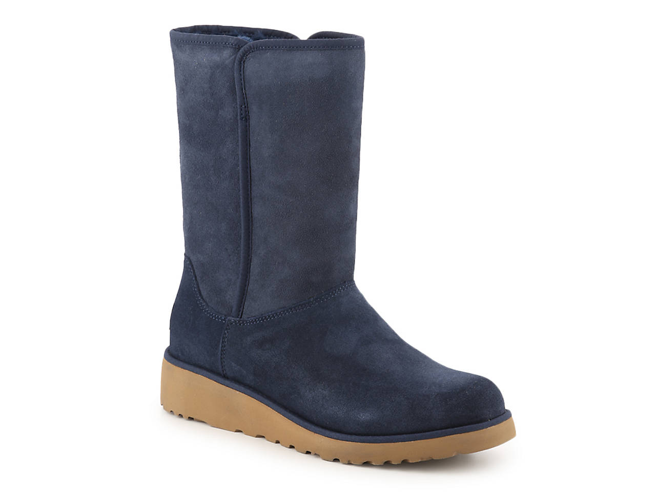b525b9543f0 UGG Amie Wedge Boot Women s Shoes