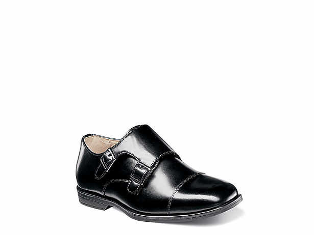 Reveal Toddler Youth Monk Strap Slip On