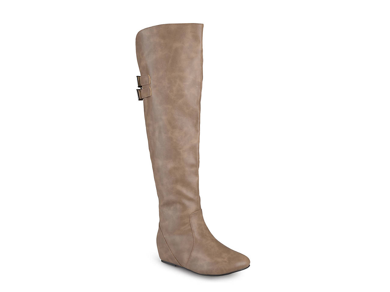Journee Collection Angel ... Women's Over-the-Knee Wedge Riding Boots FeOrHXx