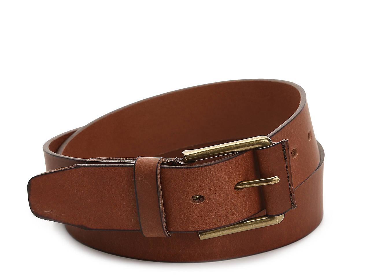 39f9bd803e3 Timberland Pull Up Men's Leather Belt Men's Handbags & Accessories | DSW