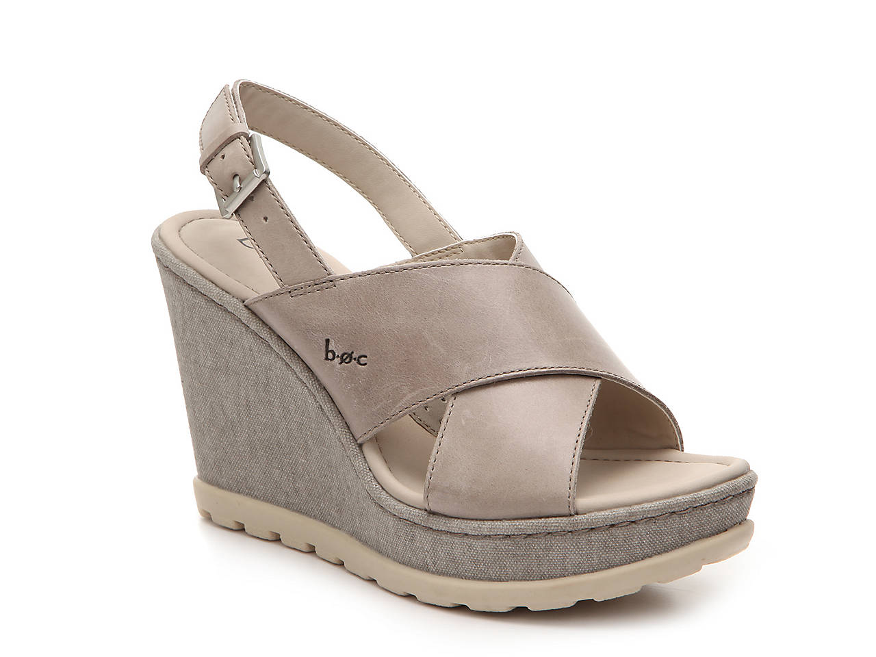 4ca67a617c7f b.o.c Dannah Wedge Sandal Women s Shoes