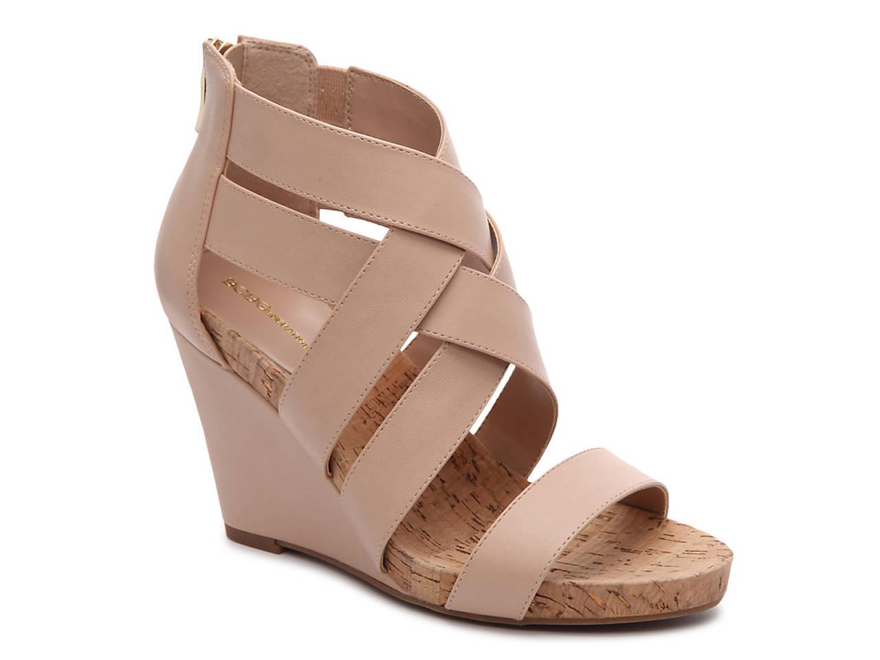 Black sandals at dsw - Bevlea Wedge Sandal
