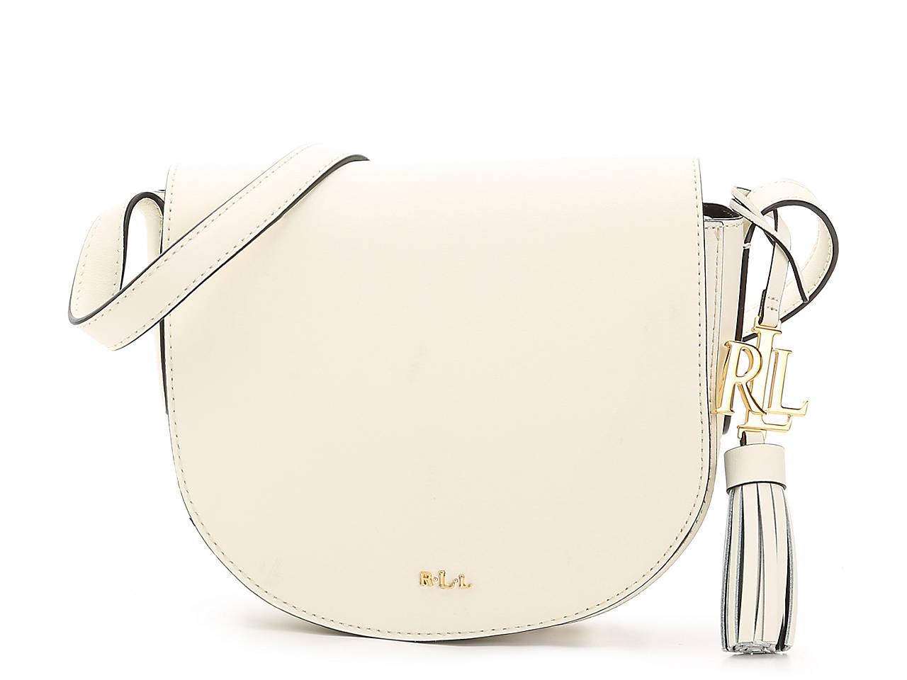 77c9341adc Lauren Ralph Lauren Dryden Caley Leather Crossbody Bag Women s ...