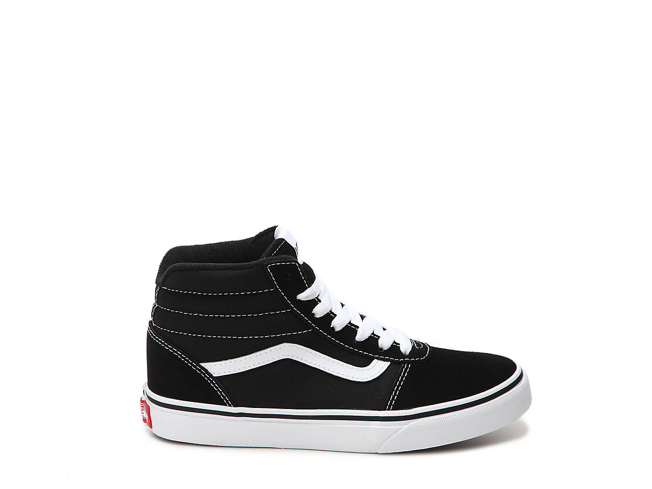0b28c4ce3f Vans Ward Toddler   Youth High-Top Sneaker Kids Shoes