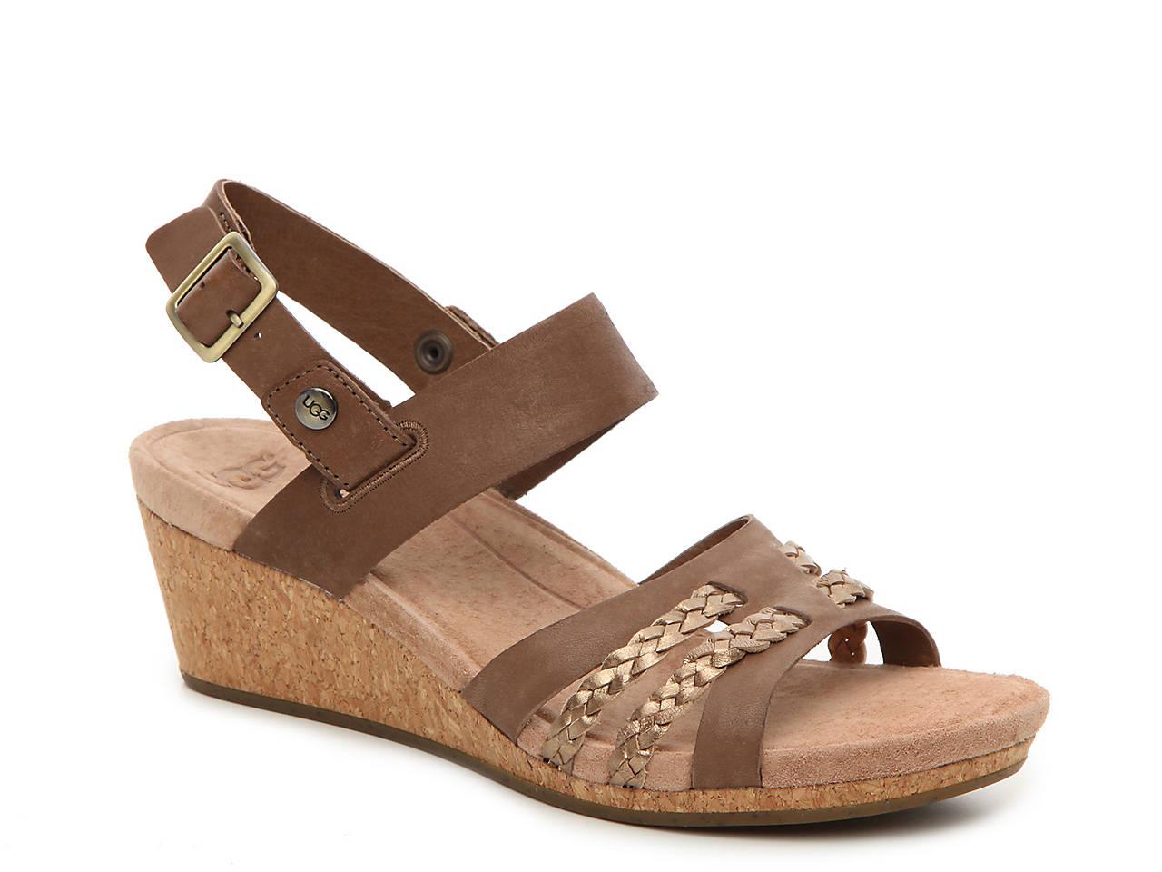 8e6f302c554 Serinda Wedge Sandal