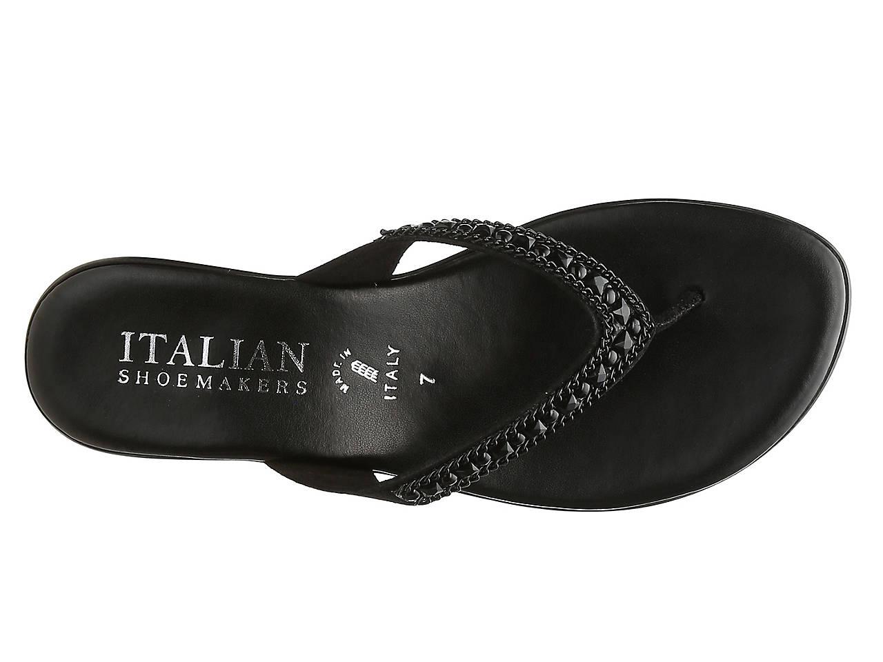 22b5dc0716f Italian Shoemakers Hartley Wedge Sandal Women s Shoes