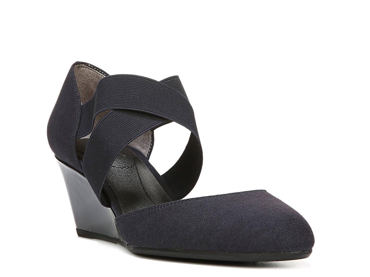 Black sandals at dsw - Darcy Wedge Pump