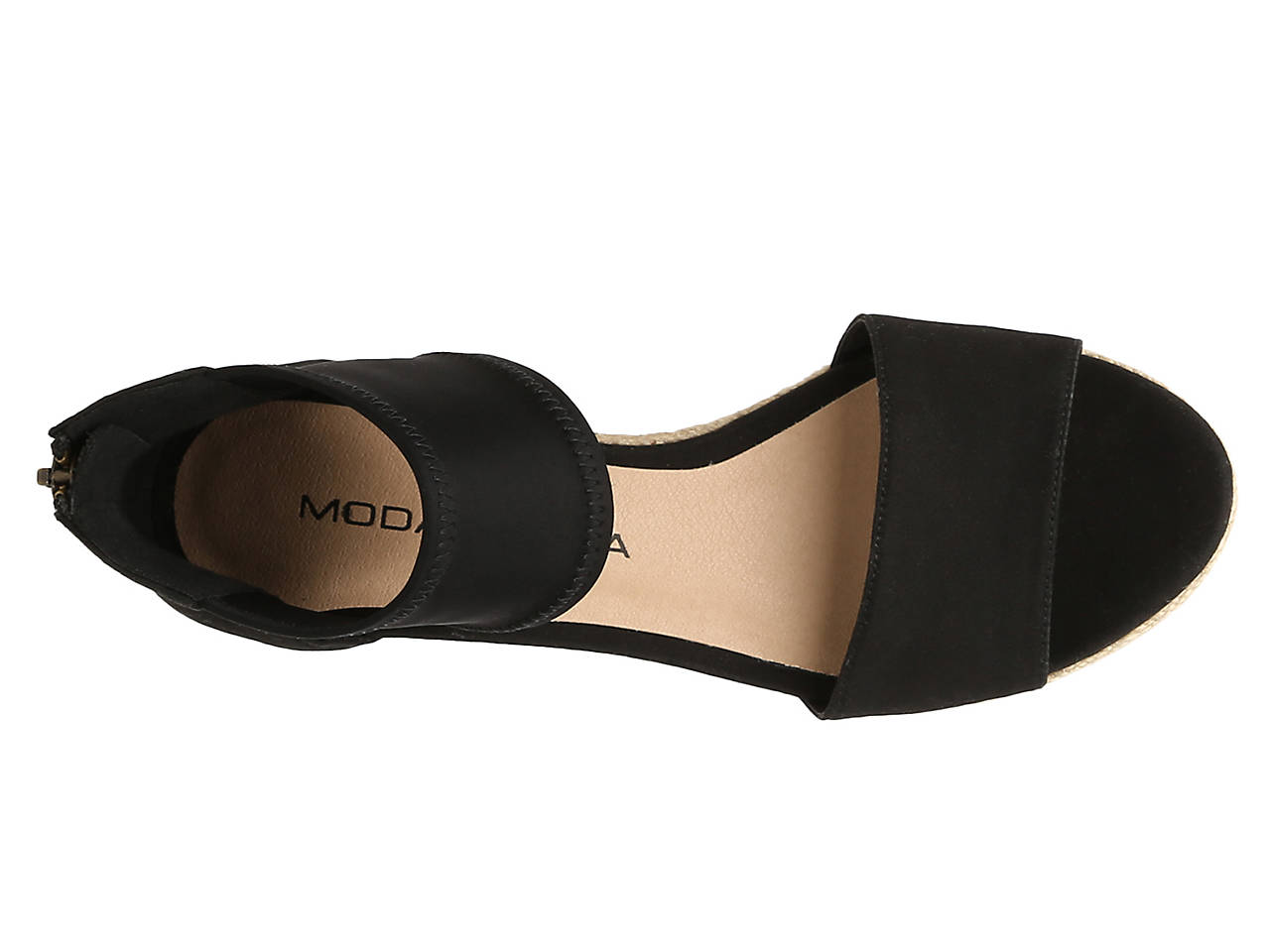 614a1c02772b Moda Spana Kacy Wedge Sandal Women s Shoes