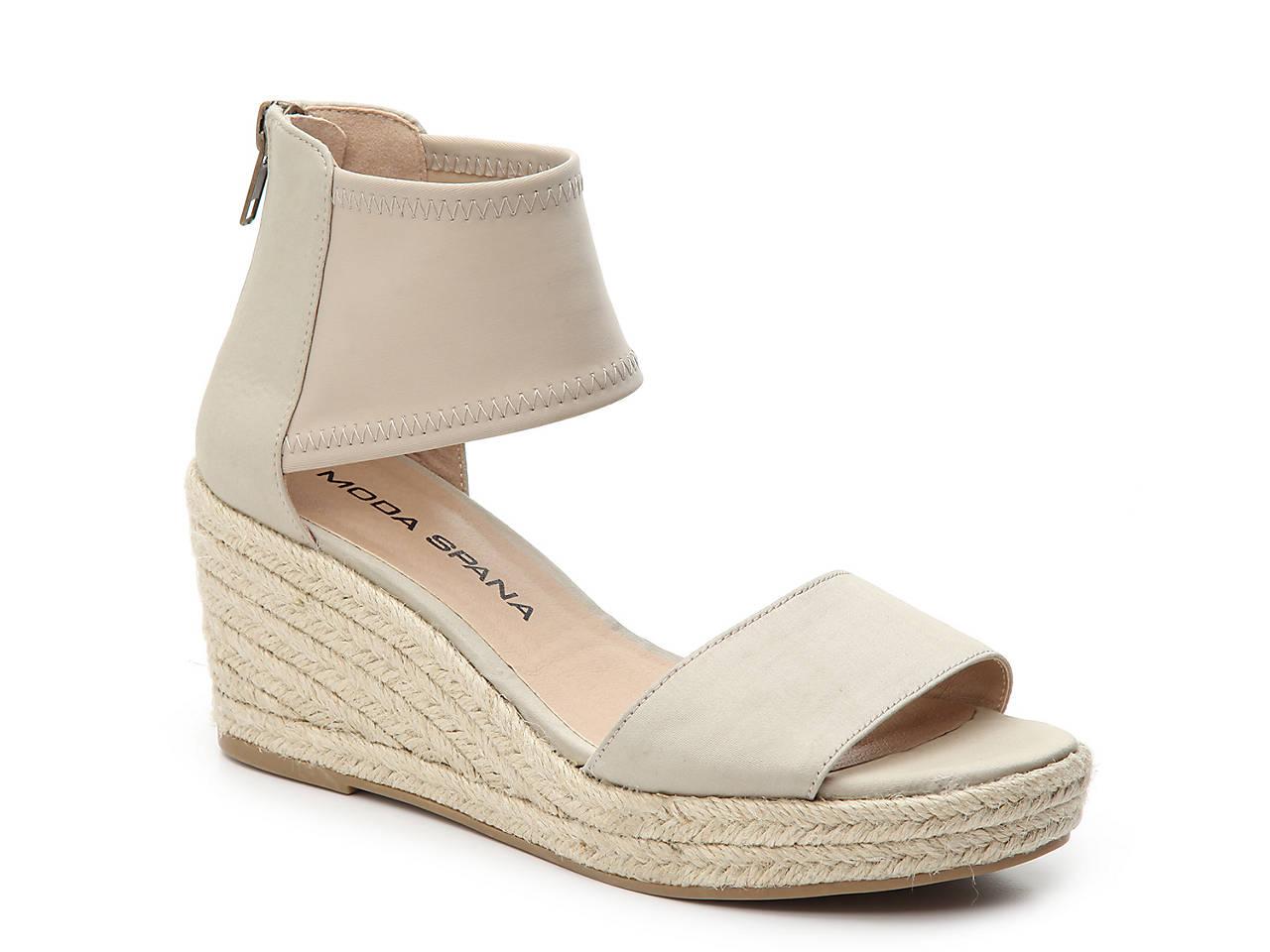 c27ca1c951a4 Moda Spana Kacy Espadrille Wedge Sandal Women s Shoes