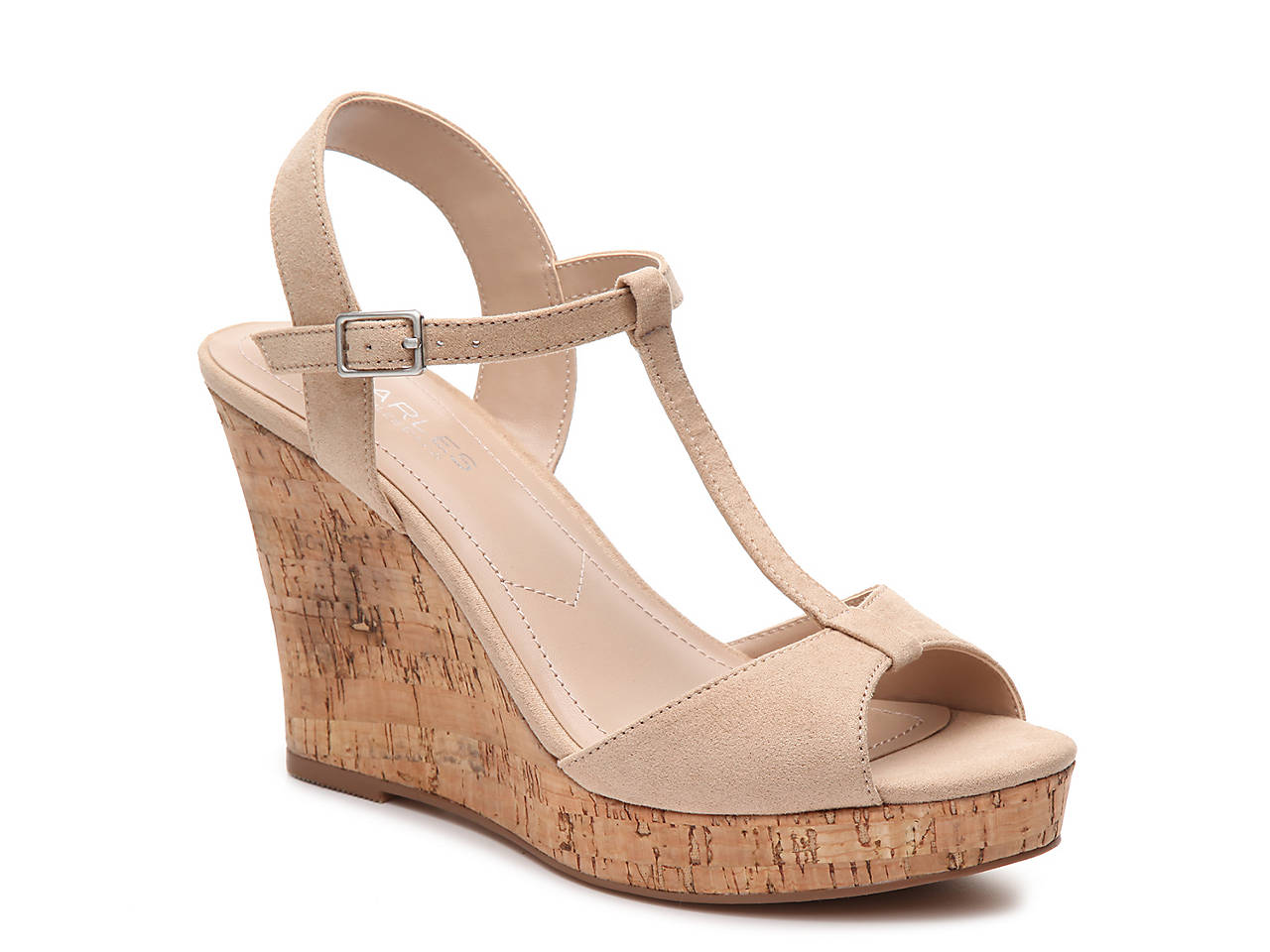 c110daa76 Charles by Charles David Lucas Wedge Sandal Women's Shoes | DSW