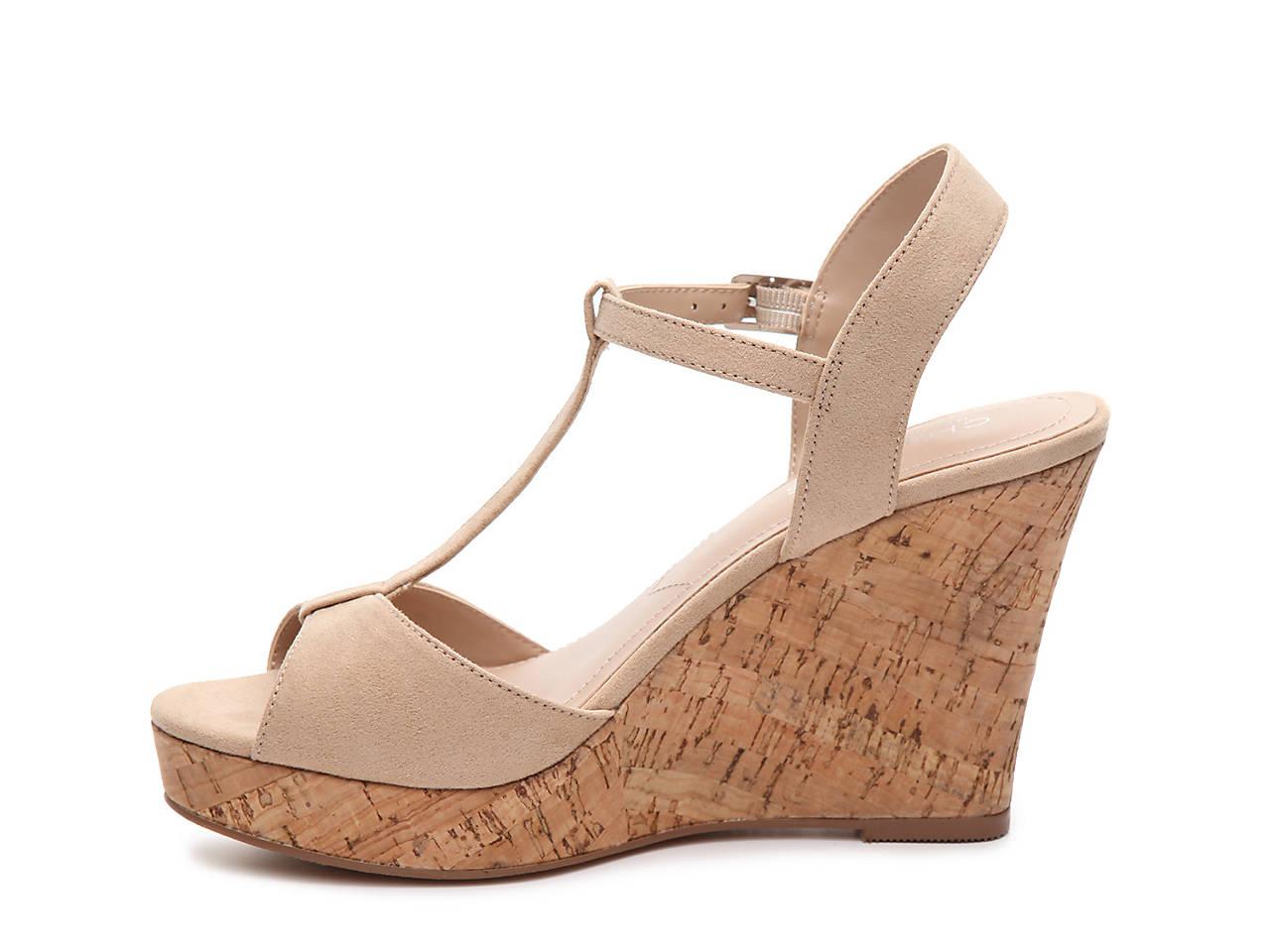 65de68079e Charles by Charles David Lucas Wedge Sandal Women's Shoes | DSW