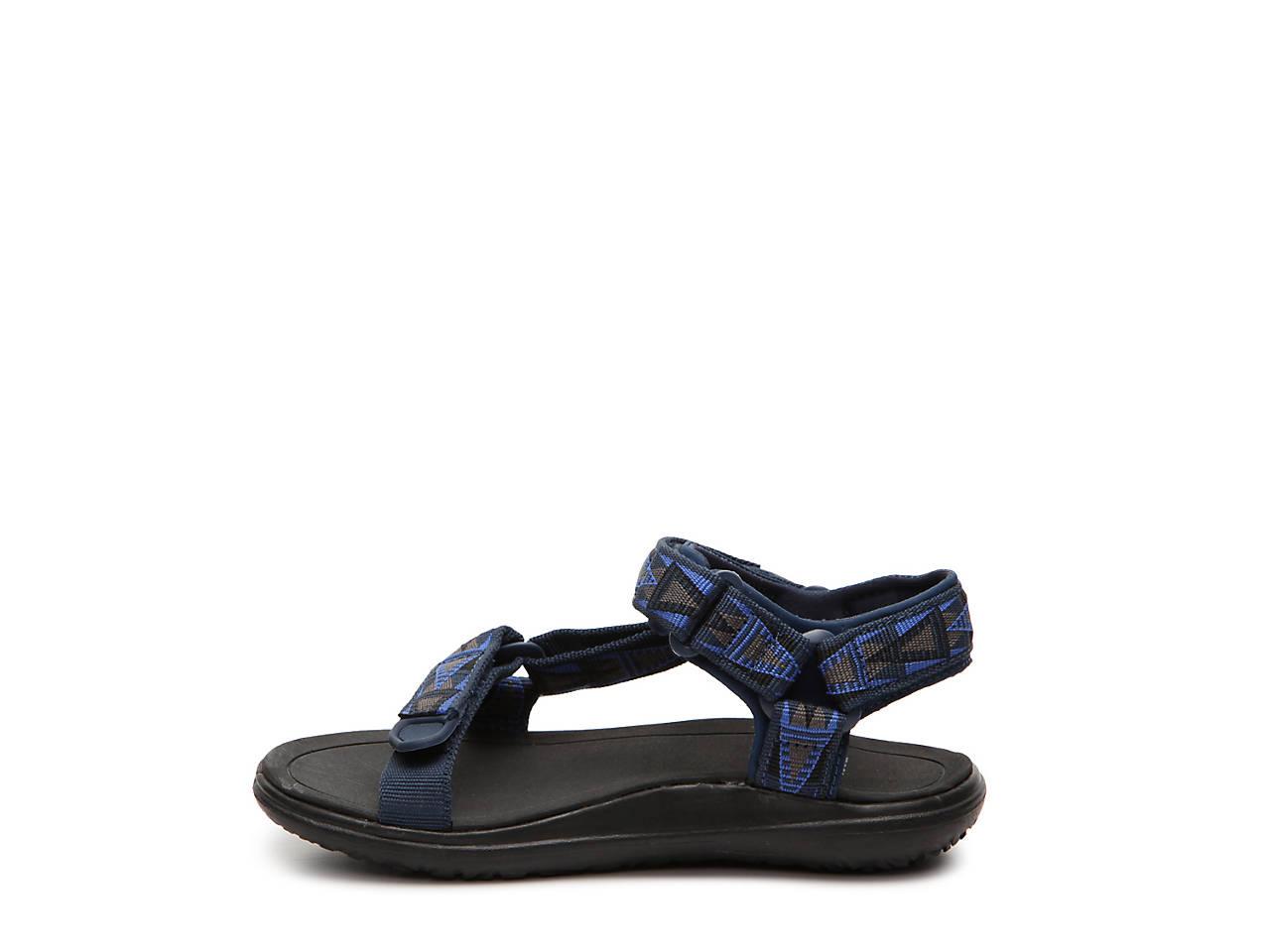 Boys Sandals Canvas Blue Teva Synthetic