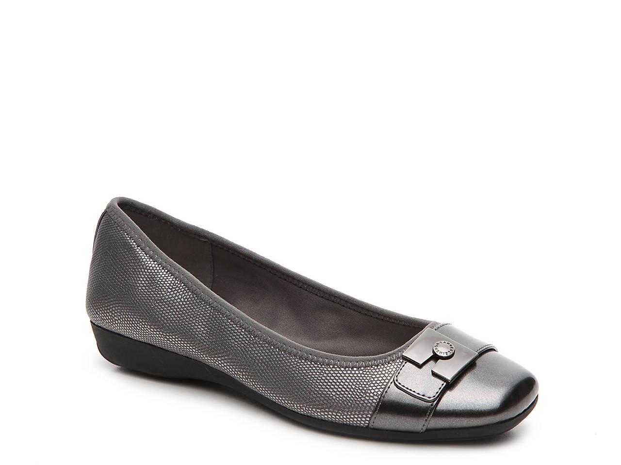 416ddb4ab30 Anne Klein Sport Ursala Ballet Flat Women s Shoes