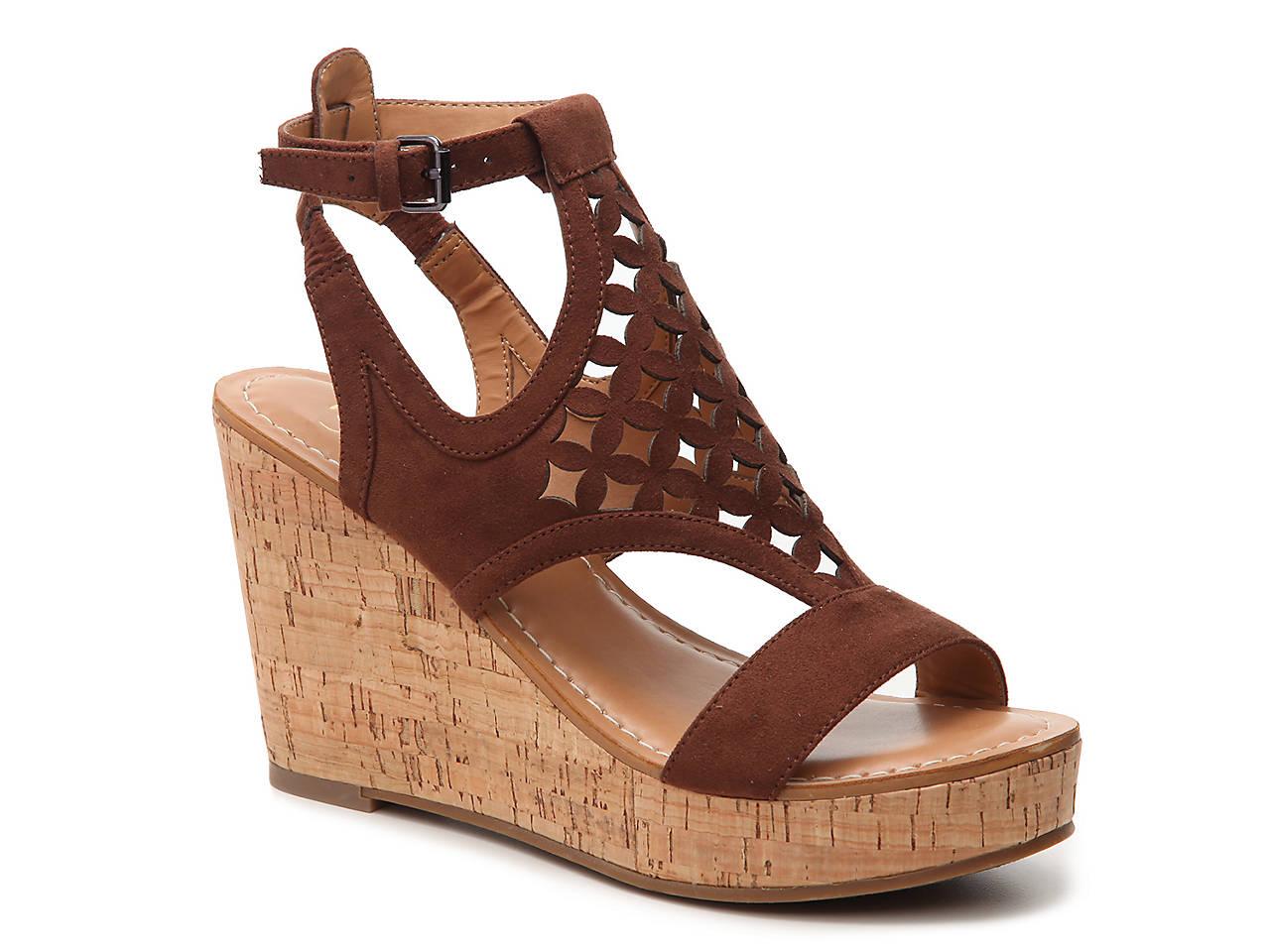 f5f58d82018a Franco Sarto Cameron Wedge Sandal Women s Shoes