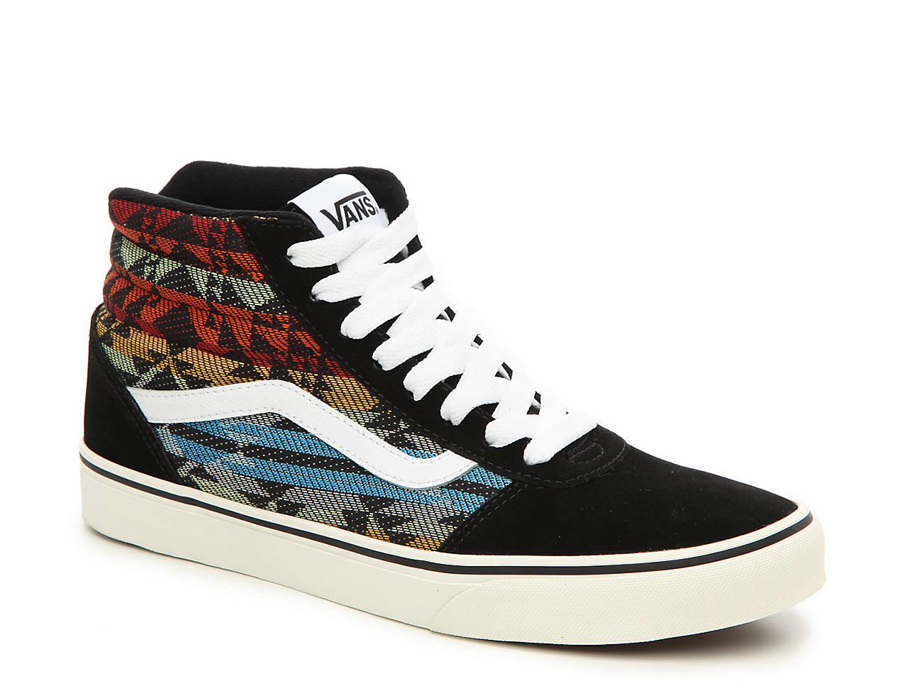 22e8d66a80 Vans Ward Hi Suede High-Top Printed Sneaker - Men s Men s Shoes