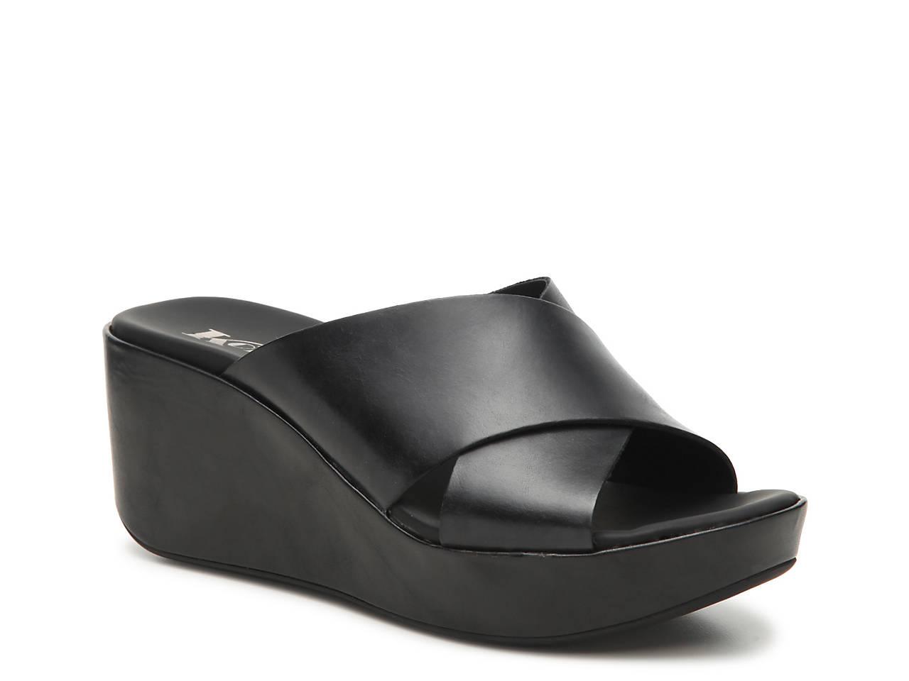 KORKS Madera Wedge Platform Sandal UoS7uAlu
