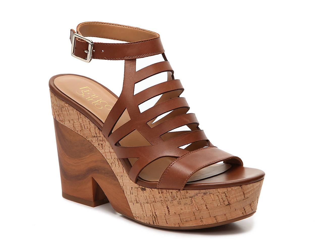 45d91e2fabd1 Franco Sarto Jiminy Wedge Sandal Women s Shoes