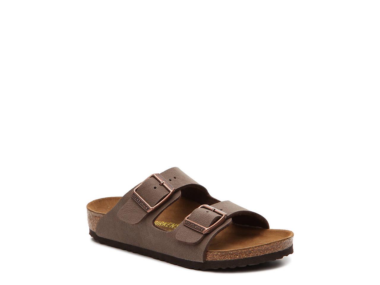 22a9b4ed5fb1 Birkenstock Arizona Toddler   Youth Flat Sandal - Girls Kids Shoes