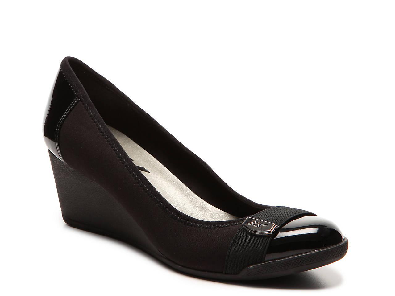 fac01bcd14c Anne Klein Sport Tatum Wedge Pump Women s Shoes