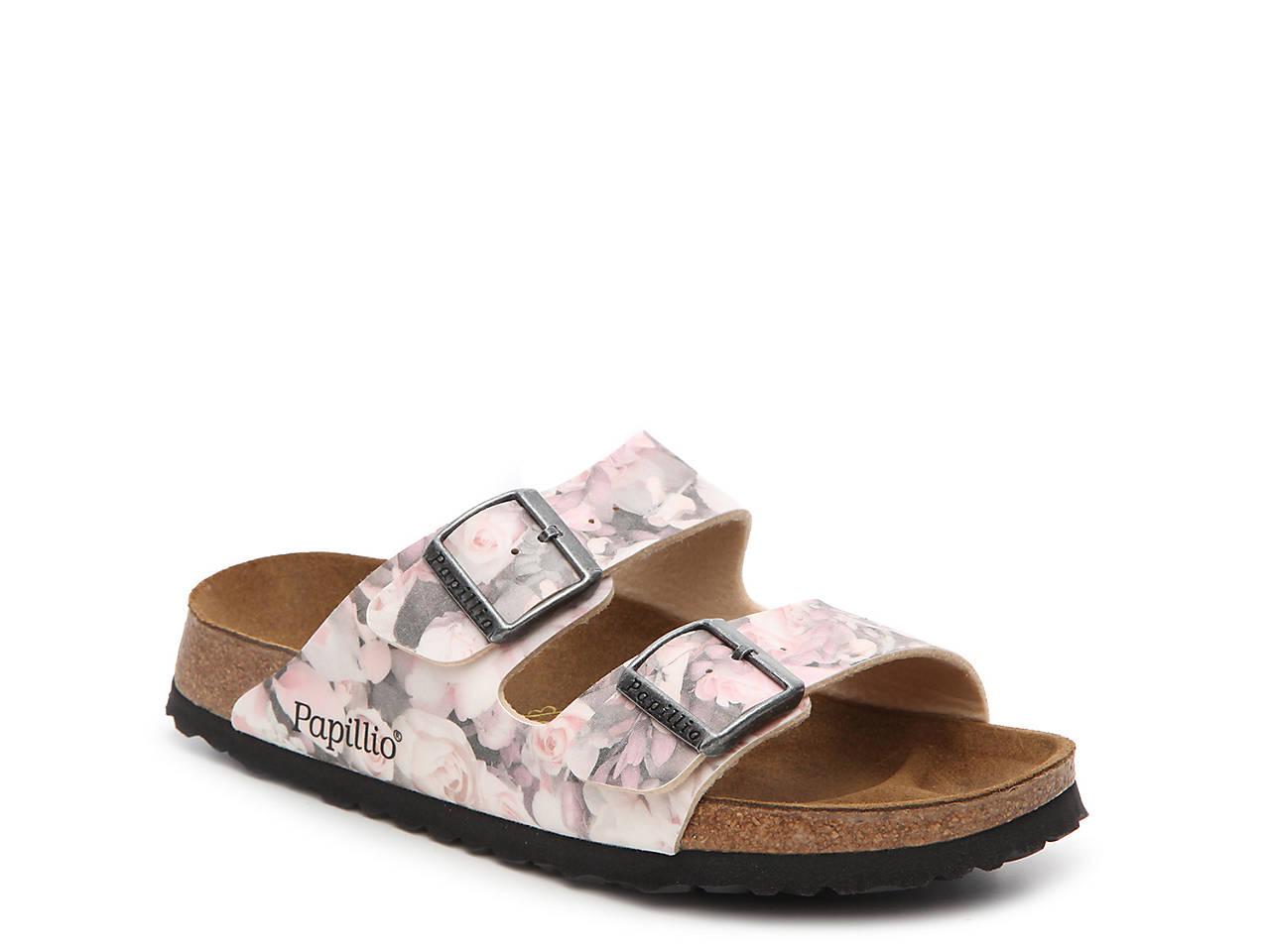 f995caa473dc Papillio by Birkenstock Arizona Silky Rose Flat Sandal Women s Shoes ...