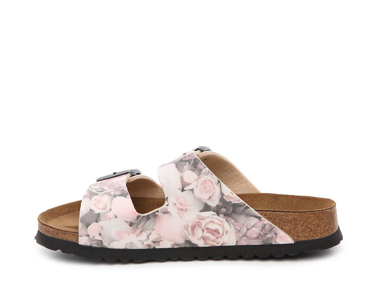 df135300d680 Papillio by Birkenstock Arizona Silky Rose Flat Sandal Women s Shoes ...
