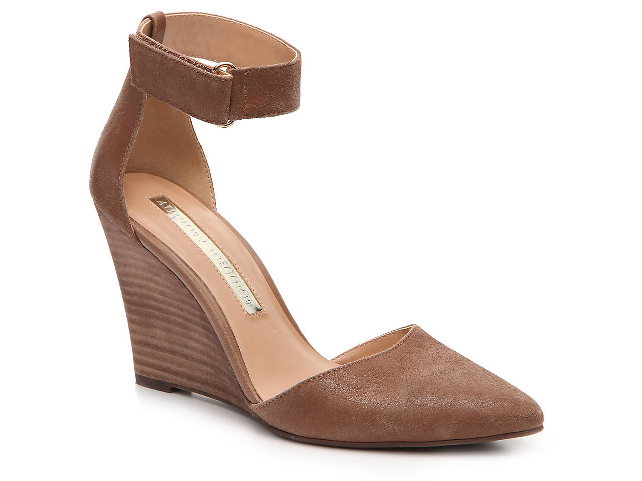 59a19a16f94 Audrey Brooke Esther Wedge Pump Men s Shoes