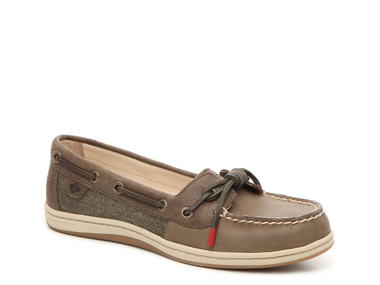 c35d9105a8f4b Barrelfish Leather Boat Shoe