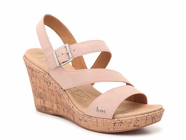 80fe7bdffa b.o.c. Schirra Wedge Sandal. $54.99. Comp. value $75.00