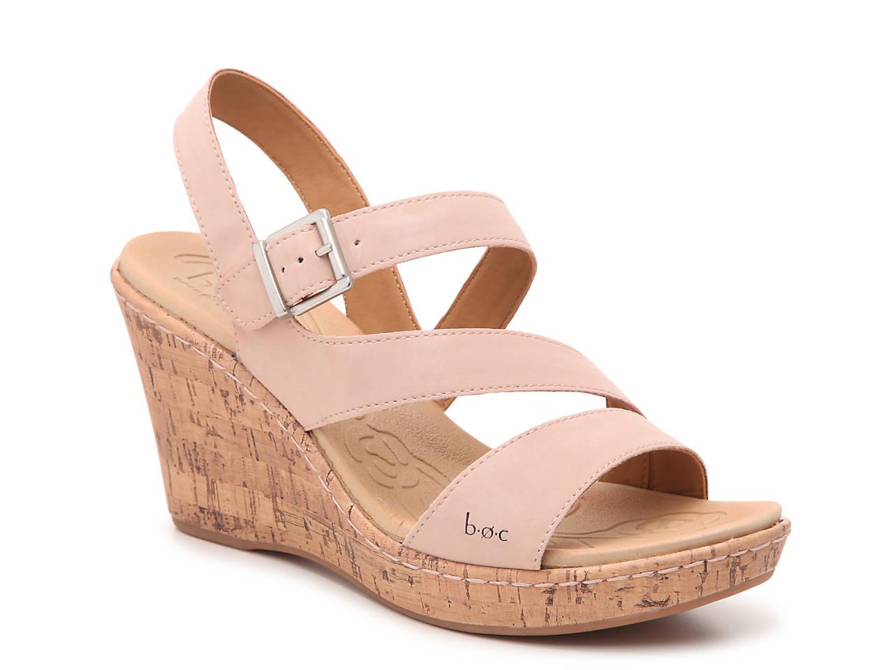 dff69969c0 b.o.c Schirra Wedge Sandal Women's Shoes | DSW