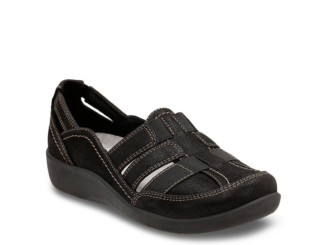 870a4f7c533 Clarks Cloudsteppers Sillian Stork Slip-On Women s Shoes