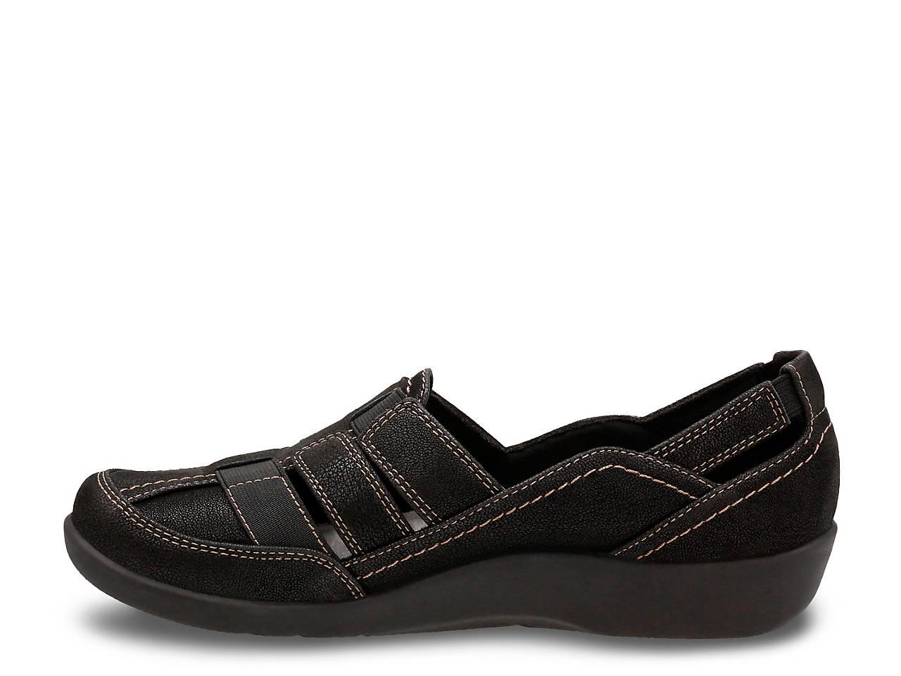 c7fd1d4195fe Clarks Cloudsteppers Sillian Stork Slip-On Women s Shoes