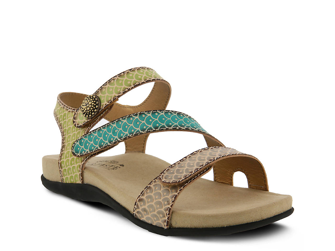 L'Artiste by Spring Step Leather Sport Sandals- Novato sale best prices clearance eastbay loMM4EMe7E