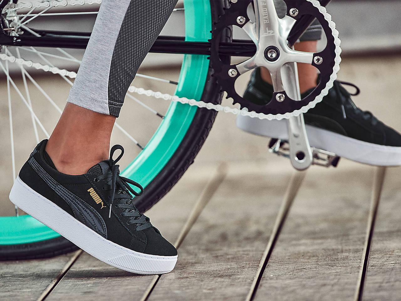d33aba1ff2e3 Puma Vikky Platform Suede Sneaker - Women s Women s Shoes