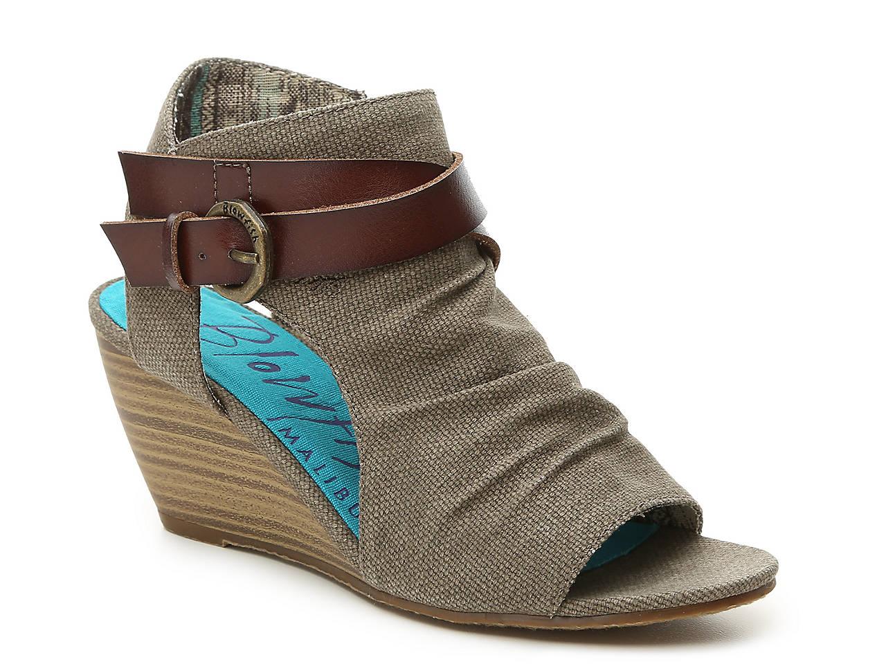 59c6ca824 Blowfish Budha Wedge Sandal Women s Shoes