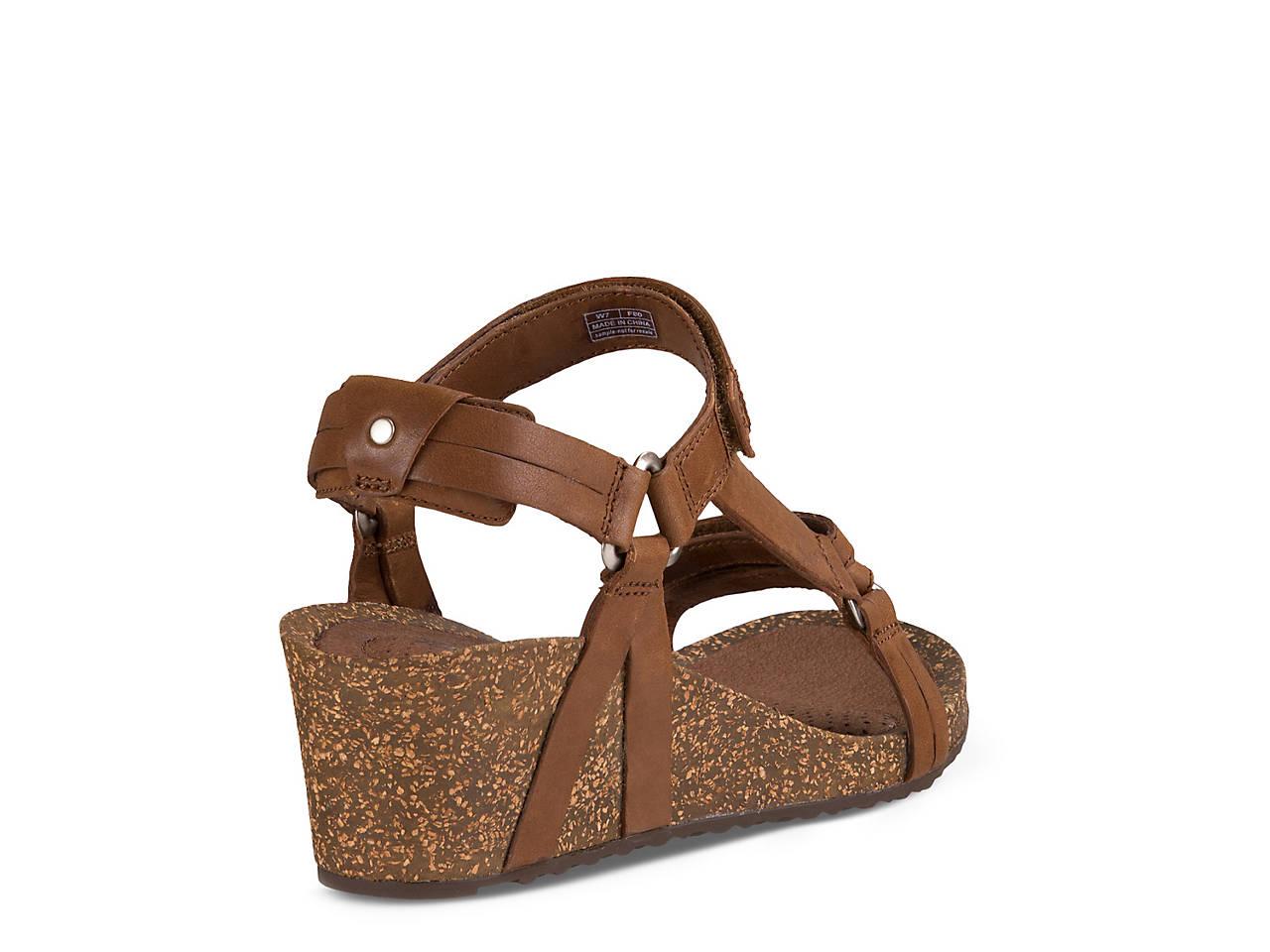 5805d51a1c00 Teva Ysidro Wedge Sandal Women s Shoes