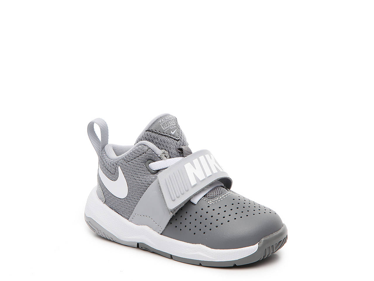 4417611e63 Nike Team Hustle D8 Infant & Toddler Basketball Shoe Kids Shoes | DSW