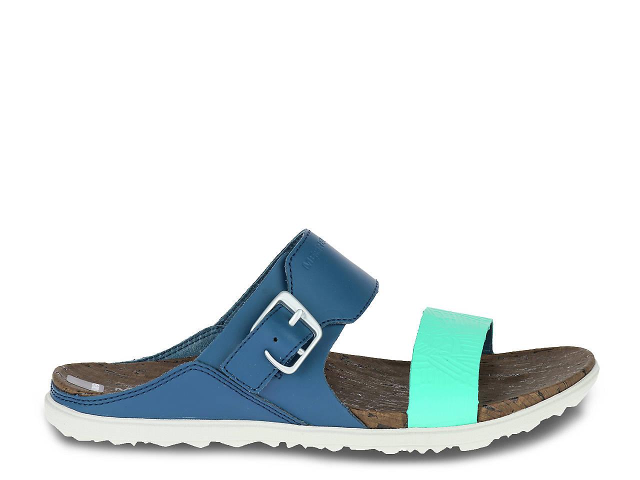 933d10aea3be Merrell Around Town Buckle Slide Sandal Women s Shoes