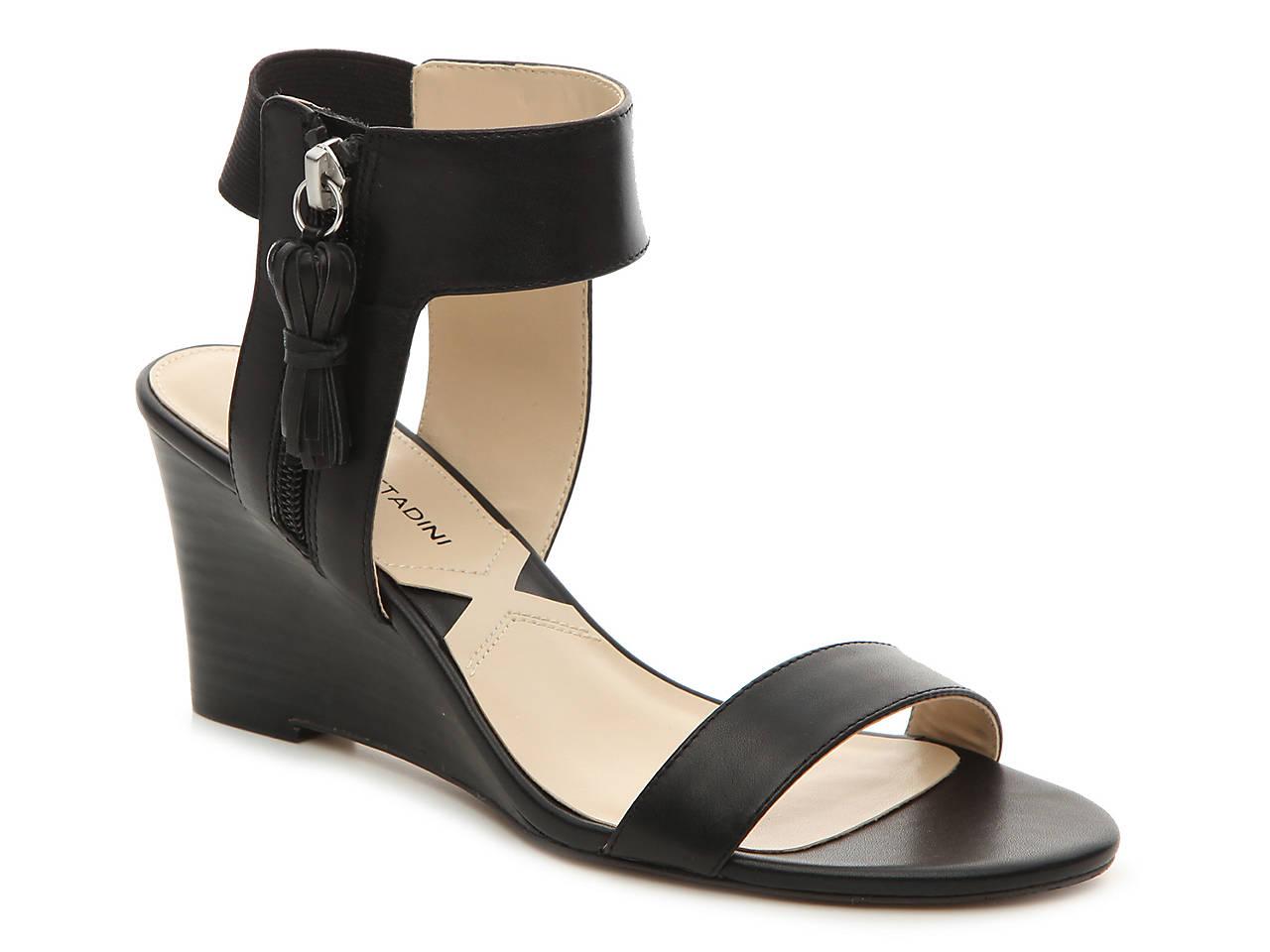 19fc443100f Adrienne Vittadini Richey Wedge Sandal Women s Shoes