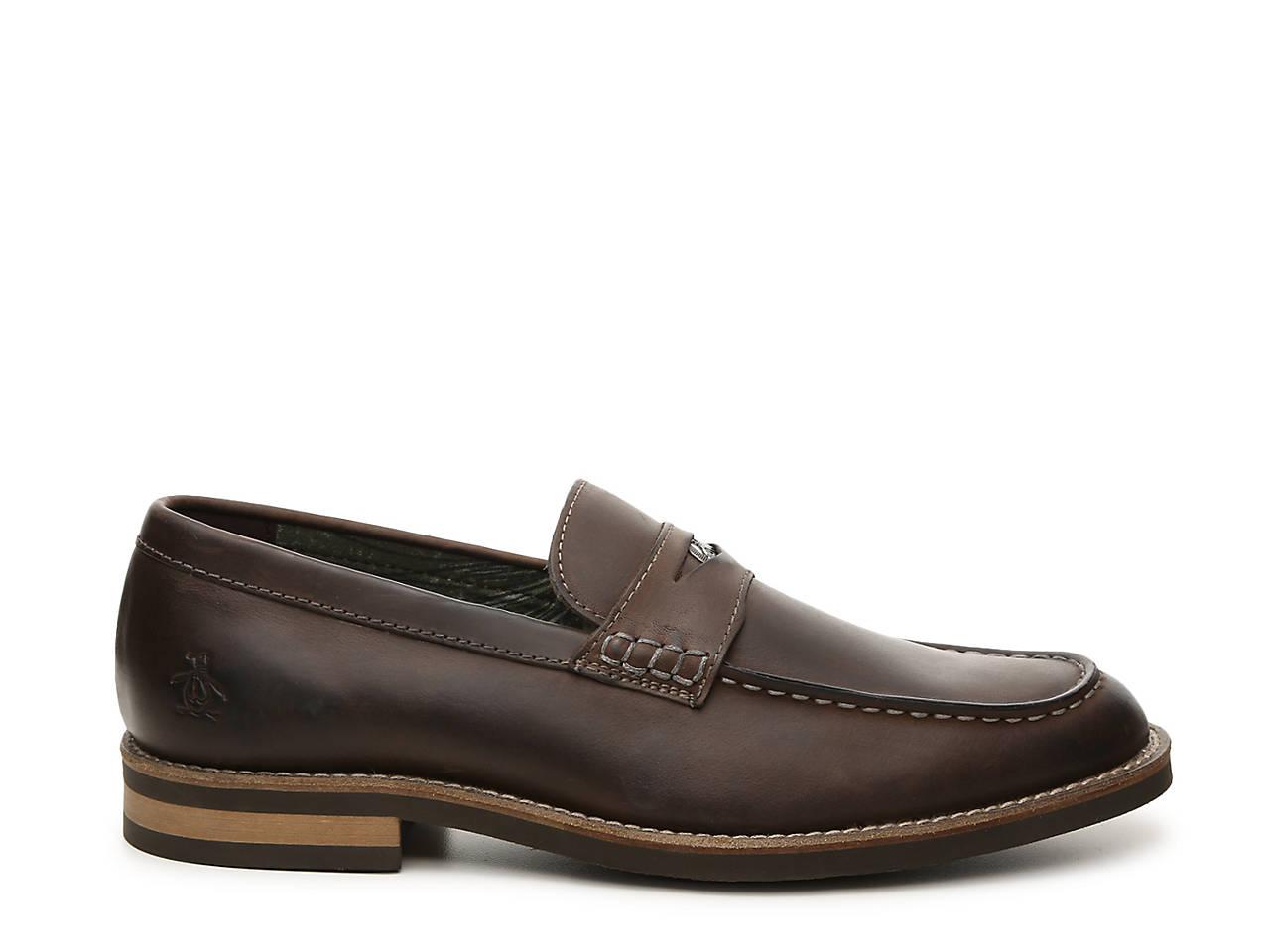 45ba4a39bde Original Penguin Benson Penny Loafer Men s Shoes