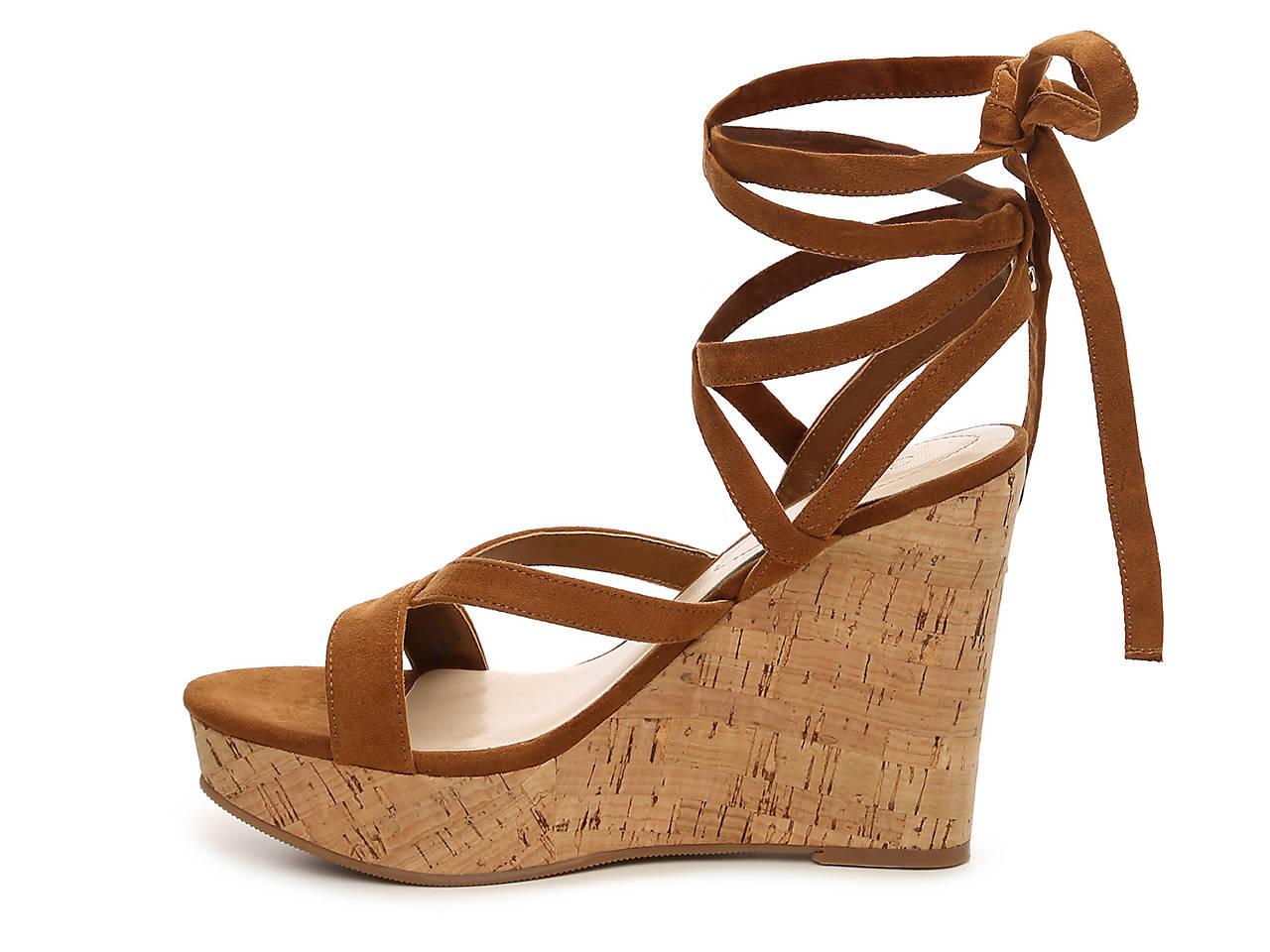 a440fd9a3c0a Guess Treacy Wedge Sandal Women s Shoes